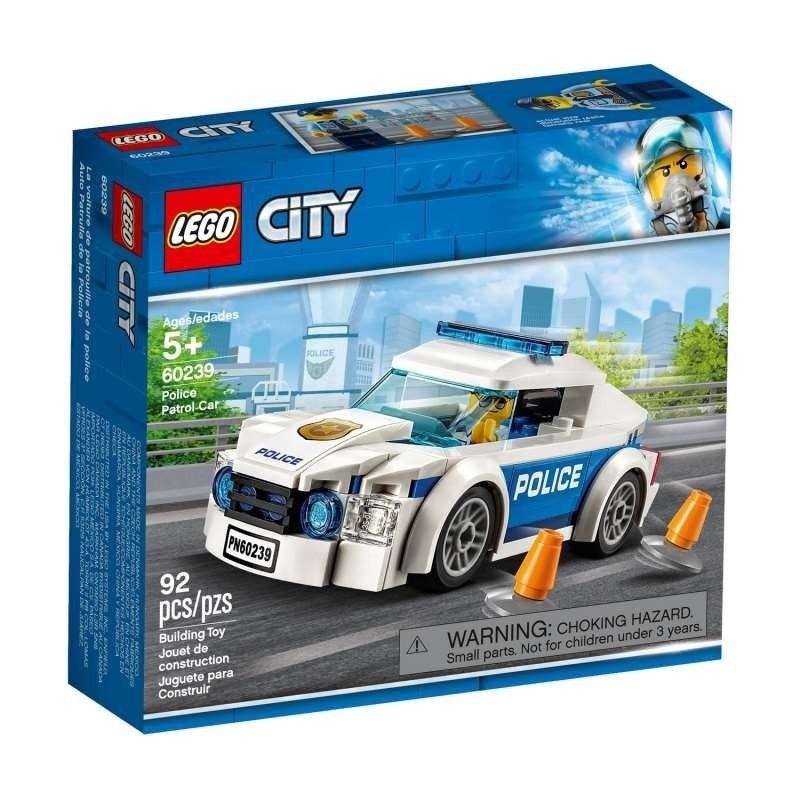 LEGO COCHE PATRULLA DE LA...