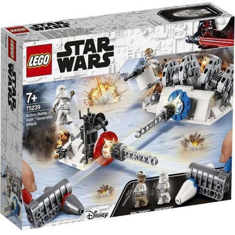 LEGO ATAQUE AL GENERAL DE HOTH