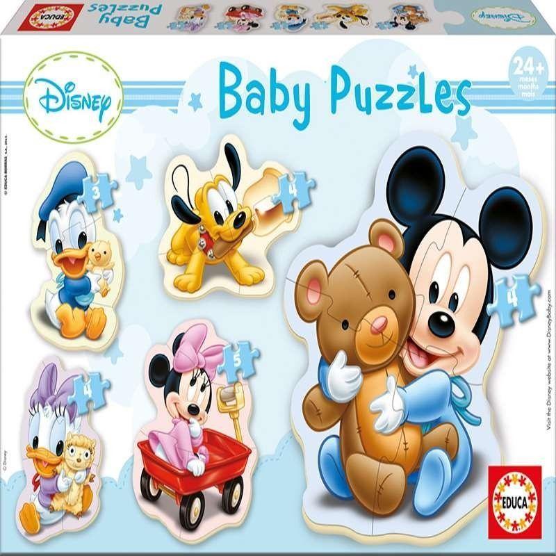 PUZZLE BABY MICKEY PROGRESIVO