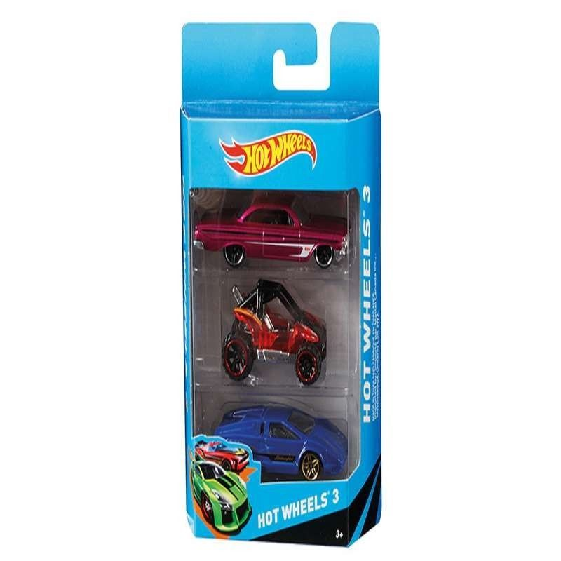 HOT WHEELS PACK 3...