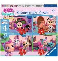 CRY BABIES PUZZLE 4 IN BOX