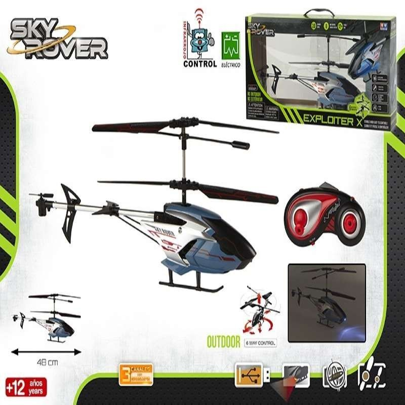 HELICOPTERO  RC  SKYROVER...