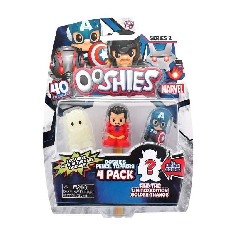OOSHIES  MARVEL  -  PACK  4...