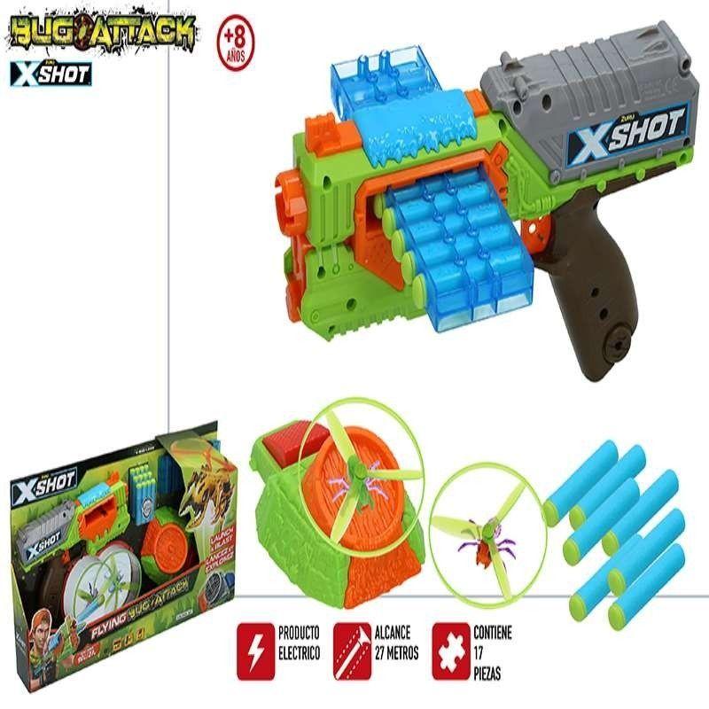 X-SHOT BUG ATTCK-PISTOLA...