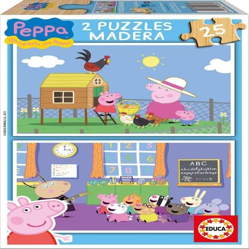2 X 25    PEPPA  PIG