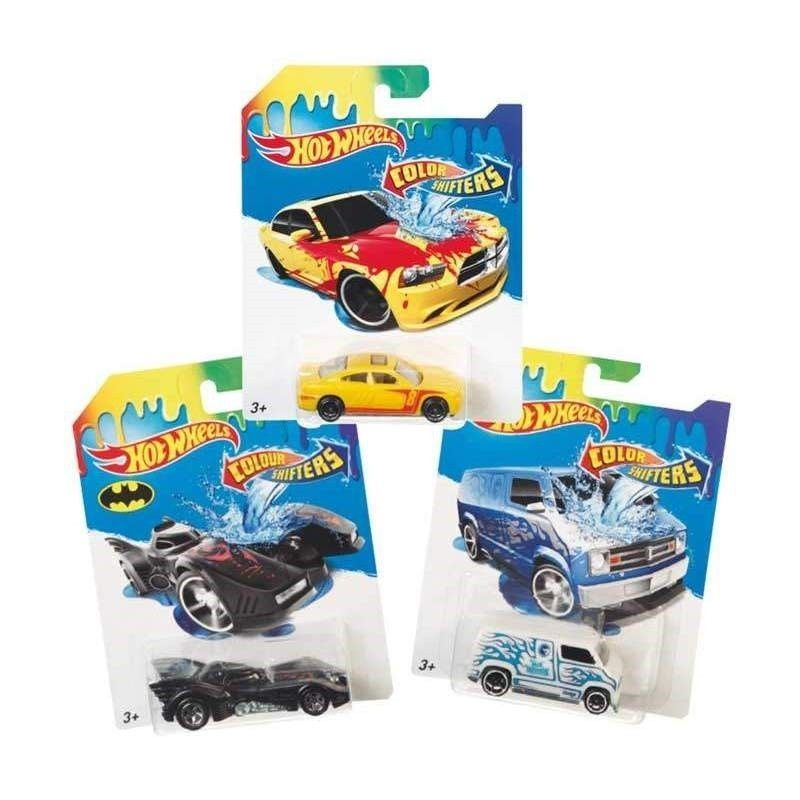 HOT WHEELS VEHICULOS COLOR...
