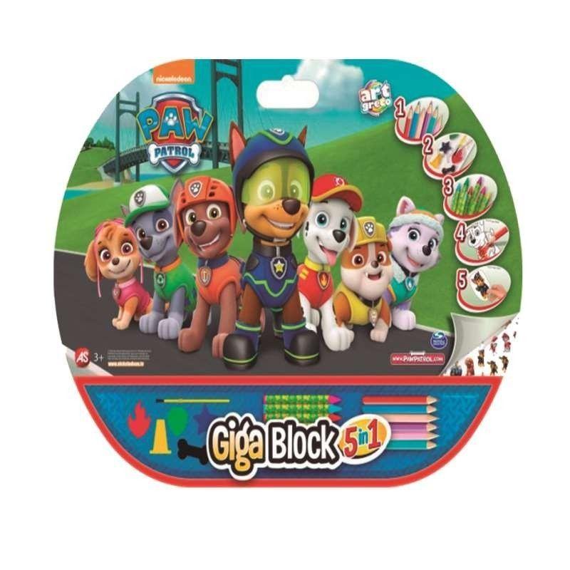 GIGA  BLOCK  PAW  PATROL  5...