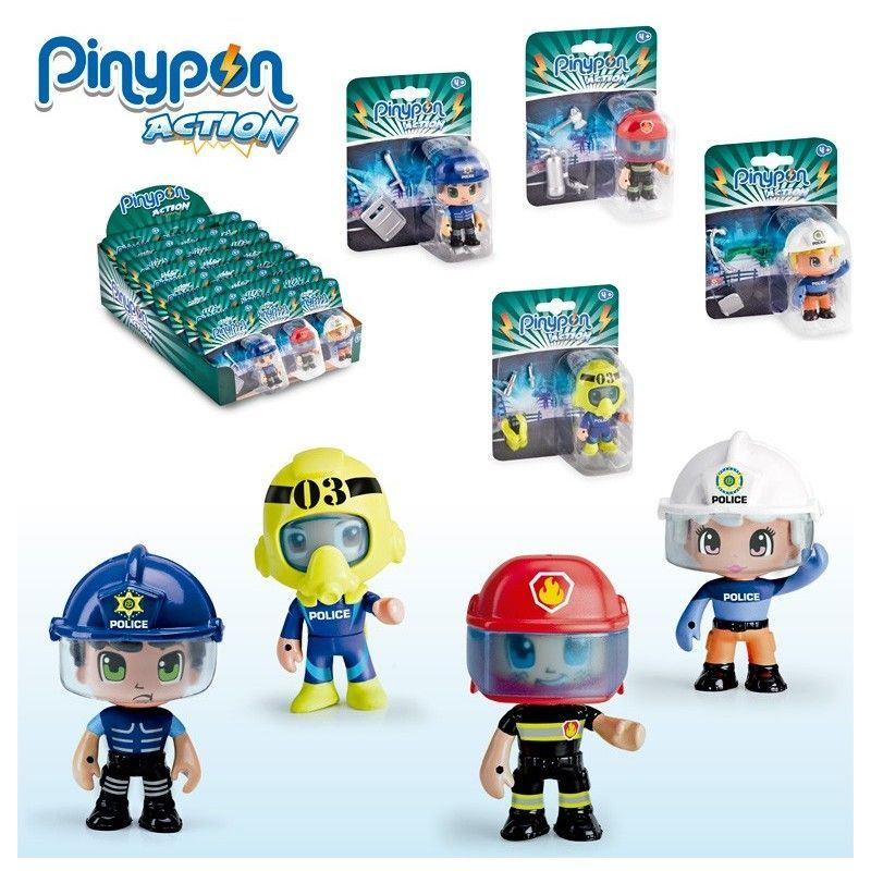 PINYPON ACTION FIGURAS...