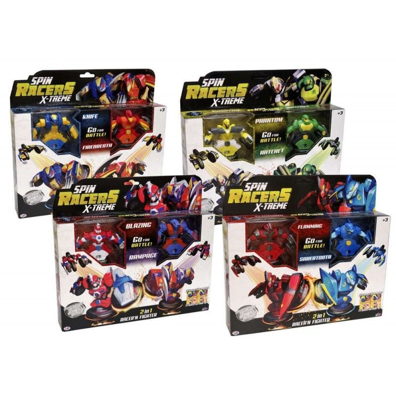 PACK DE 2 SPIN FLAMING Y...
