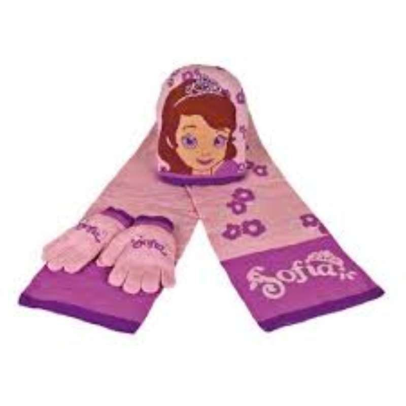 CONJUNTO BUFANDA SOFIA THE...