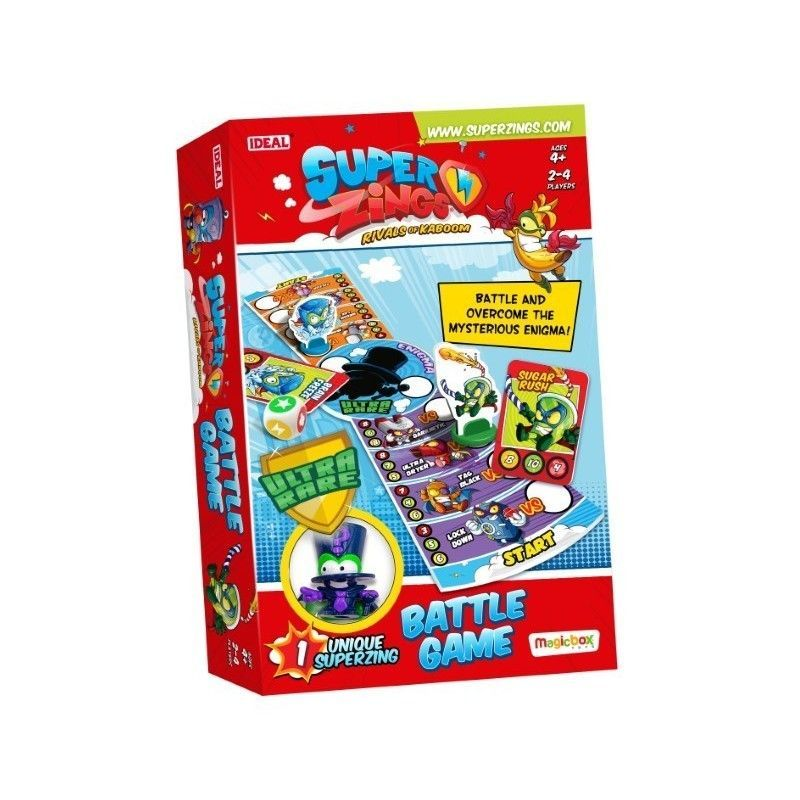 SUPERZINGS BATTLE GAME ENIGMA