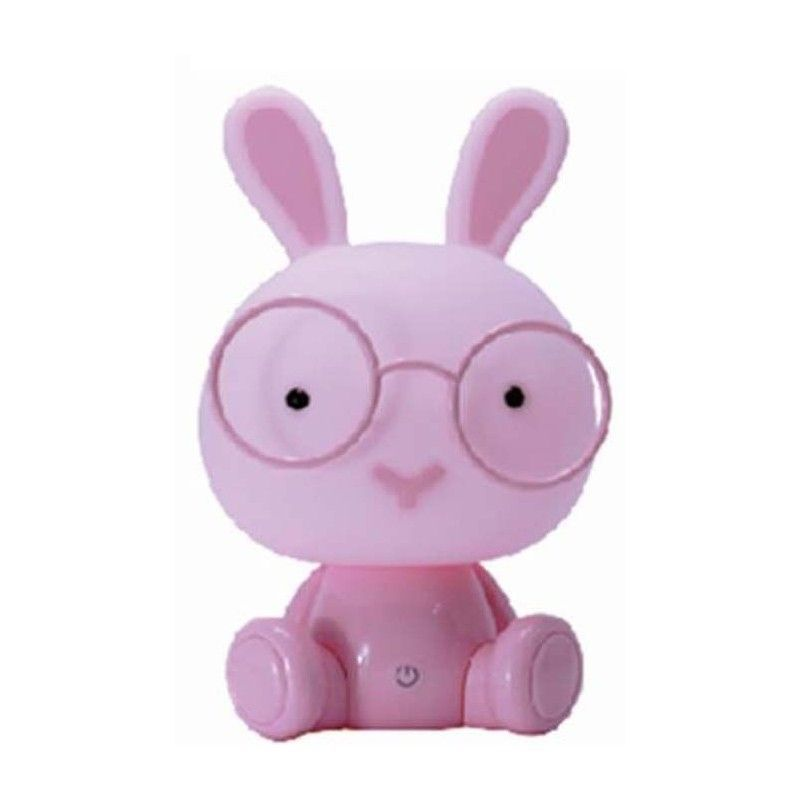 LAMPARA  LED  RABBIT  PINK...