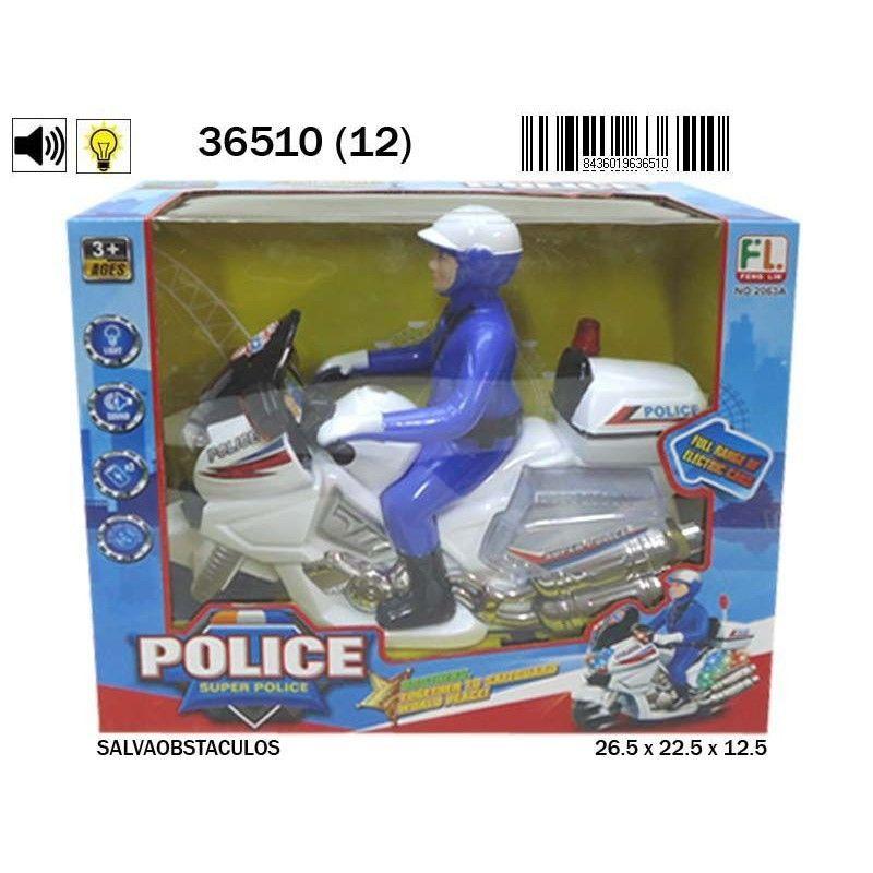 MOTO POLICIA...