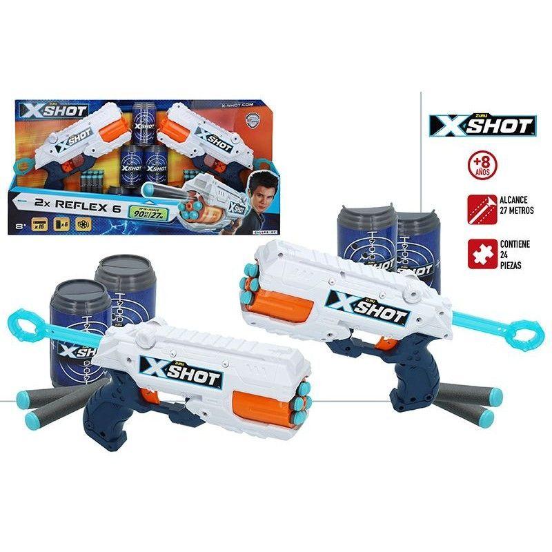 X-SHOT EXCEL -PK 2 PISTOLAS...