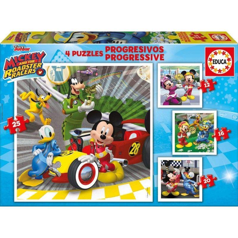 PUZZLE MICKEY SUPERPILOTOS...