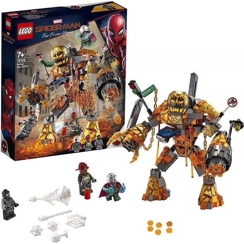 LEGO BATALLA CONTRA MOLTEN...