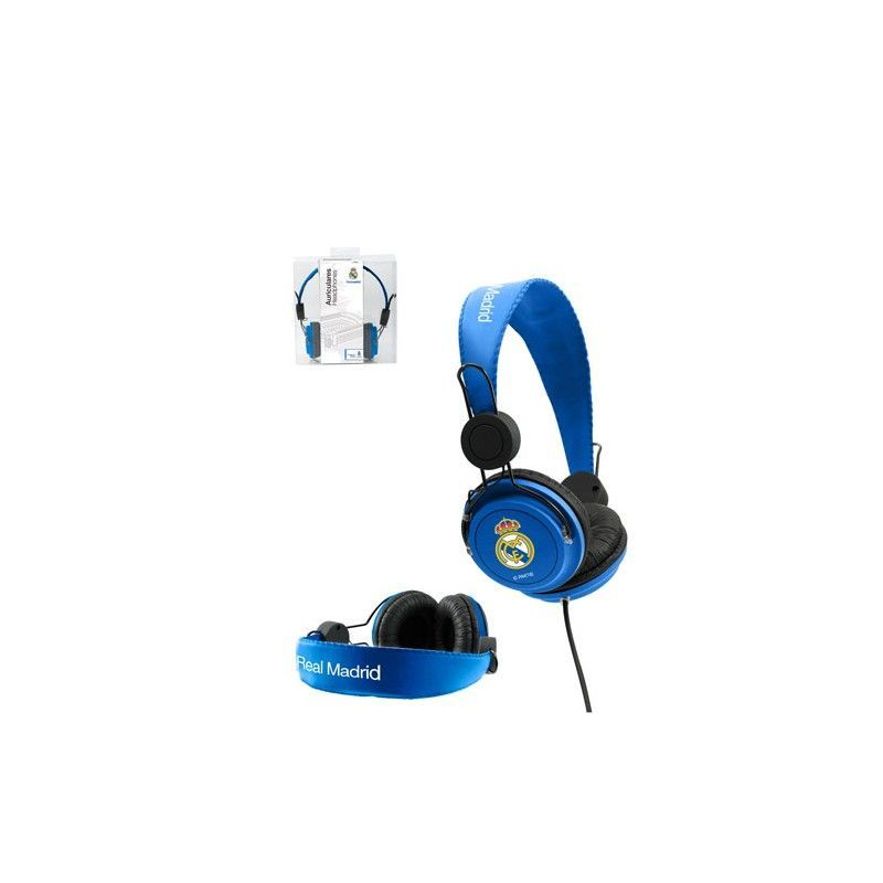 AURICULARES CASCO REAL MADRID