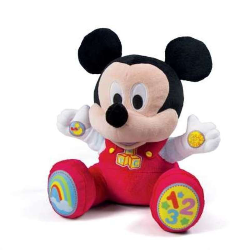 BABY MICKEY PELUCHE EDUCATIVO