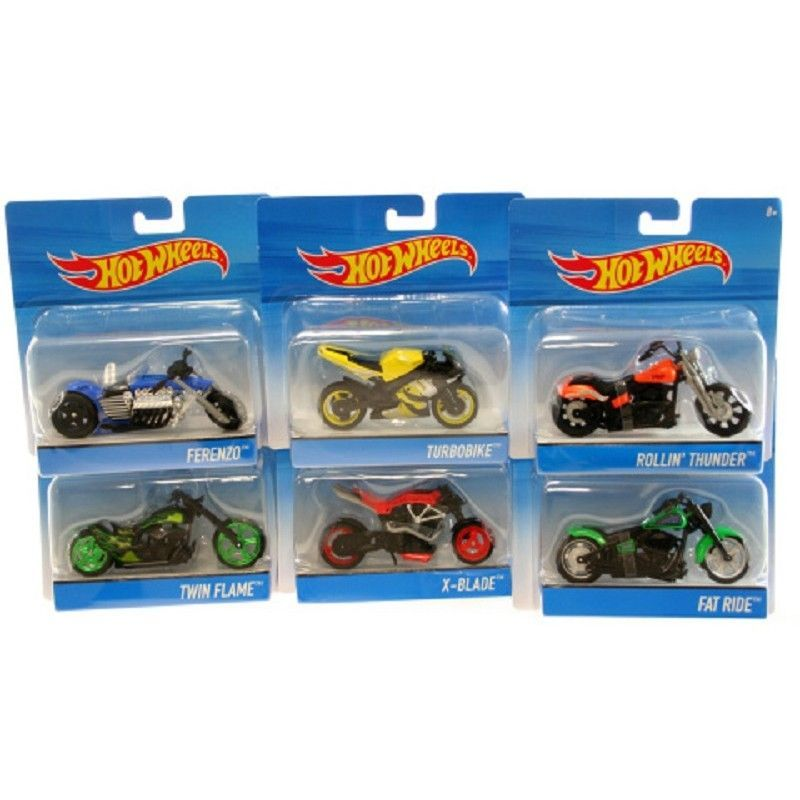 HOT WHEELS MOTOS STREET...