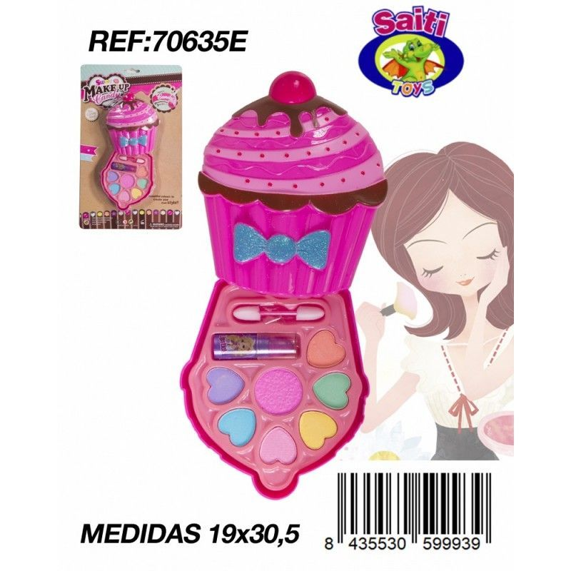 MAQUILLAJE CUP CAKE