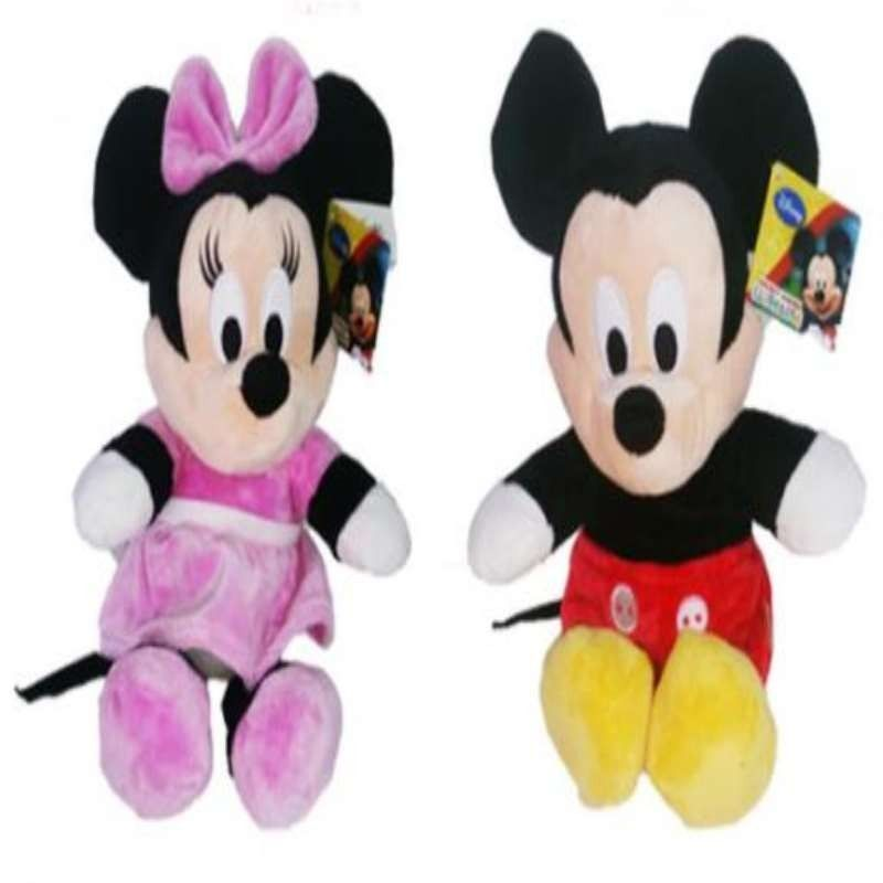 MICKEY & MINNIE FLOPSIE 36CM