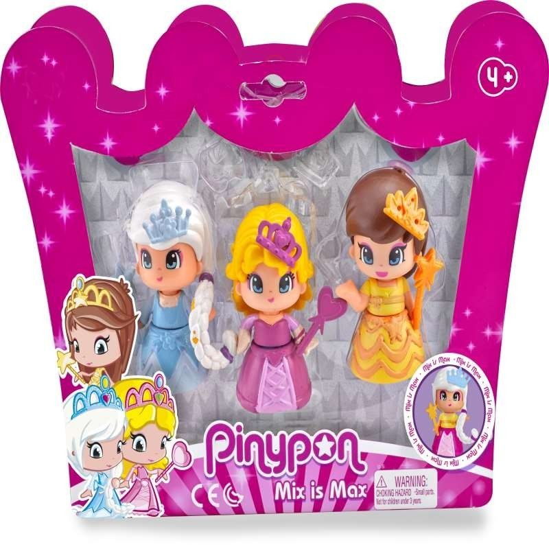 PINYPON. PACK 3 PRINCESAS