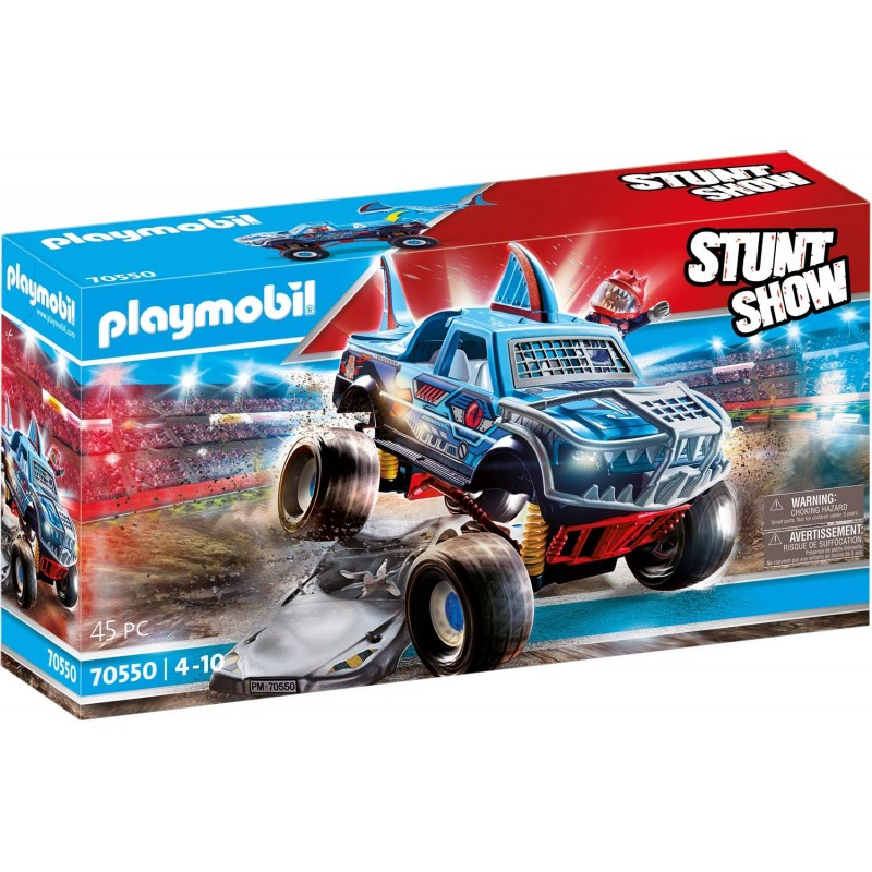 STUNTSHOW MONSTER TRUCK SHARK