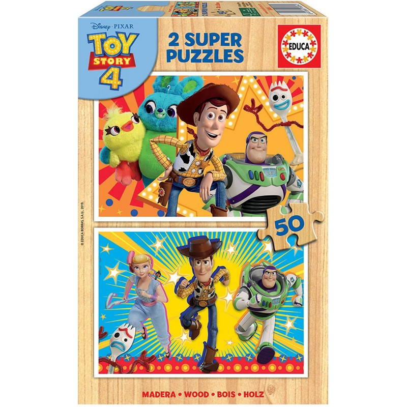PUZZLE 2X50 TOY STORY 4