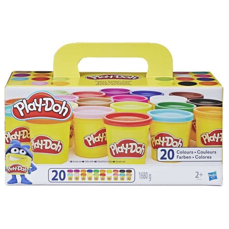 PLAYDOH  SUPER PACK 20 BOTES