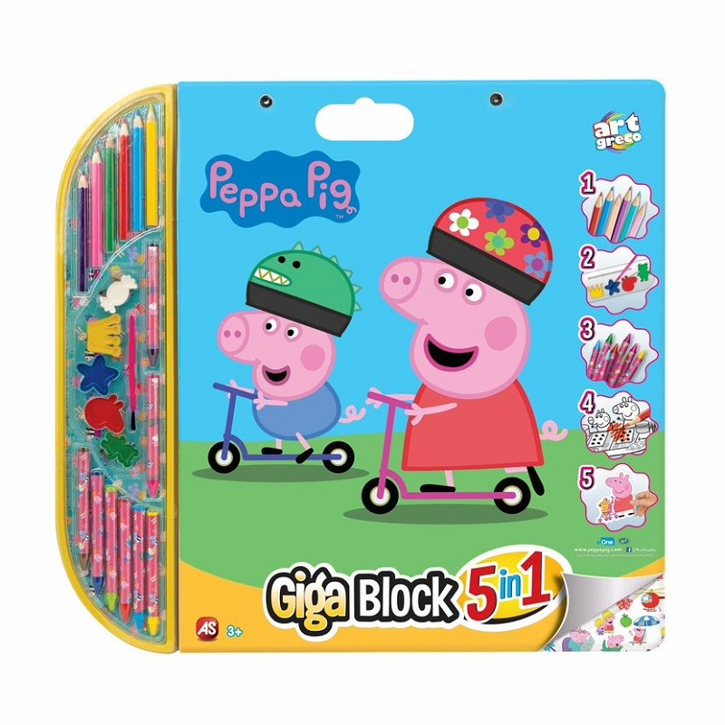 GIGA  BLOCK  PEPPA  PIG  5...