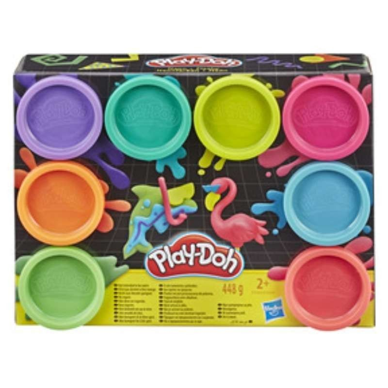 PLAYDOH PACK 8 BOTES